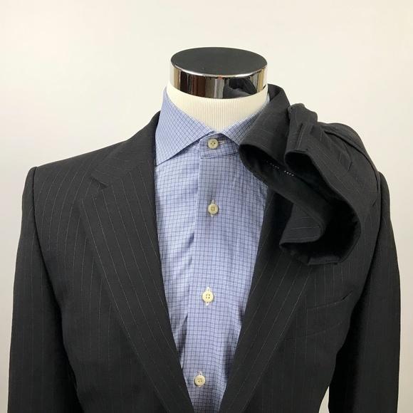 2e56c6f5a Hugo Boss Suits & Blazers | Mens 38r Gable Vegas Suit 33 X 31 Black ...
